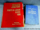 1954 Motor Service New Automotive Encyclopedia; 1999 Motor Chilton parts & labor guide.