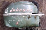 Johnson Sea Horse 3hp motor. Turns over and has compression.