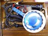 Cabela's Maglite; 12 volt spot light; and more.