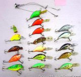 Rebel and other fishing lures up to 4
