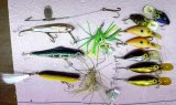 Creek Chub Striper Strike and other fishing lures up to 5