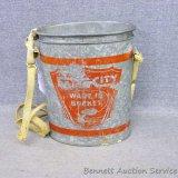 Vintage Falls City Wade-In Minnow Bucket, 8