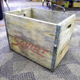 Squirt crate has decent graphics and is in good condition. Measures 16