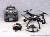 Syma X5C Gyroscope 2.G Explorers 4 ch 2.4G remote control quadcopter. Appears to be NIB.