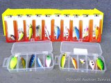 Assorted fishing lures as pictured