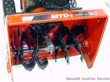 MTD electric start snow blower with 24