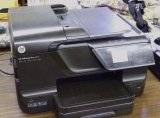 HP Office Jet Pro 8600 printer, fax, scanner and copier. Powers up.