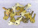 Assortment of keys.