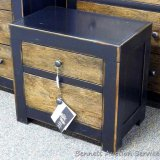 Ashley Signature two drawer night stand. Model B653. Matches lots 858, 861 and 862