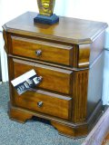 Ashley Signature three drawer night stand. Model B429. Matches lots 863, 866 and 868.