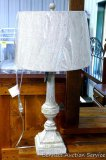 Lamps per si table lamp. Model LPS-228. Matches lot 871.