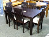 Allwood 7 pc. Dinette set. Table is approx. 35