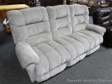 Best Space Saver reclining sofa, Putty. Model S720RA4.