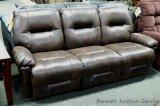 Best S500 reclining sofa, Sable. Model S500-RA4
