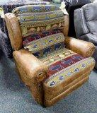 USA Rustic recliner/rocker. Model 501.