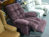 Best recliner/rocker, Sangria. Model 9MW87-1. Matches lots 908, 913 and 940.