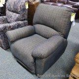 Klaussner recliner/rocker. Model XAASX. Made in USA.
