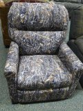 USA Rustic recliner/rocker, camo.