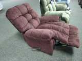 Best recliner/rocker, Sangria. Model 9MW87-1. Matches lots 908, 913 and 926.