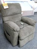 Lane lift chair. Foot rest doesn't close all the way and doesn't recline all the way back, but lift