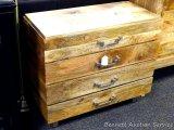 Coast to Coast Jadu Accents 4 drawer chest, Model 68203. Matches lot 950.