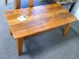 Chequamegon - Amish coffee table, barn wood. Matches lots 960, 962, 964 and 965.