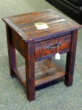 Kelly hickory night stand. Model BW105A.