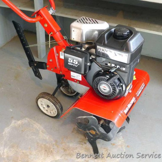 Yard Machines front tine garden tiller, model 21A-332A700, with 5.5 hp overhead valve Briggs &