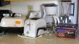 Sunbeam table top electric skillet; 12 cup Mr. Coffee coffee maker; Hamilton Beach Cookbook Blender;