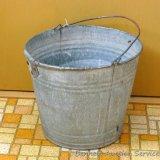 Galvanized bucket stands 10