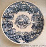 Medford, Wisconsin commemorative 1974 centennial plate is in very good condition, 10
