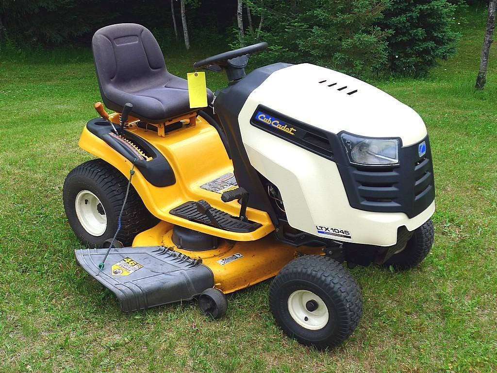 """Watch the Video!  Cub Cadet 42"""" riding lawnmower with Kohler Courage 20 motor, 5097cc."""