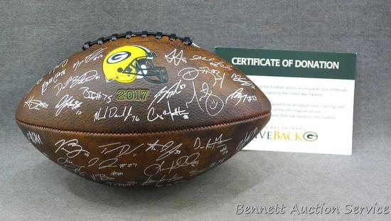 new style 874c7 3e9ad 2017 Green Bay Packers Football autographed players and ...