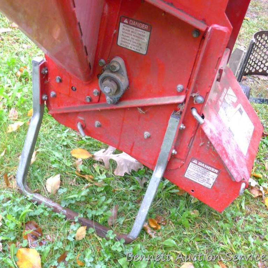 Troy Bilt Super Tomahawk Chipper Shredder Model 47266 With
