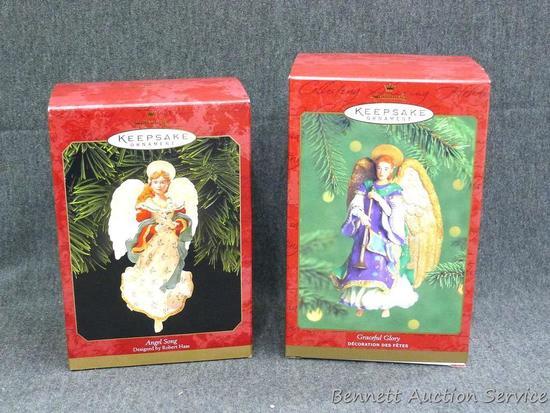 Hallmark Keepsake ornaments, have original packaging.