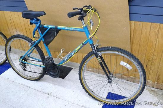 "Men's 18 Speed Murray Rock Canyon 26"" mountain bike, tires need air, with combination lock, water"