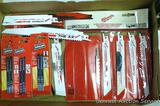 Milwaukee Sawzall blades; Vermont American jig saw blades and more.