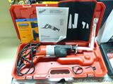 Milwaukee Model 6507-21 Sawzall comes with case, manual, some extra blades and a power scraping tool