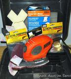 Black & Decker Mouse sander and polisher. Comes with extra pads and carry case.