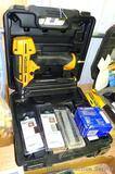Bostitch Smart Point 18 ga Brad Nailer Kit BTFP12233. Comes with extra brads and carry case.