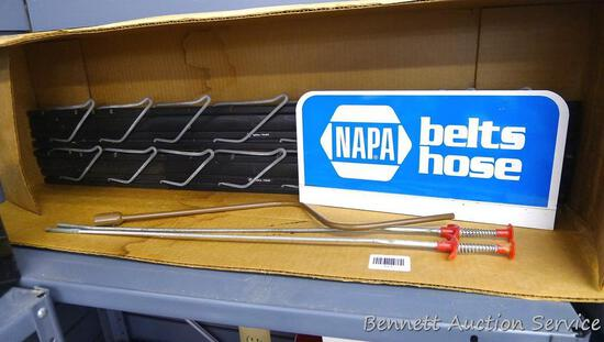 "Napa belt boards; 2 flexible grabbers are 23"" long; more."