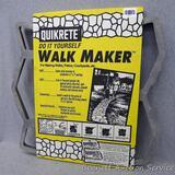 Quik-Rete Do-It-Yourself walk maker is 24