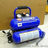 Campbell Hausfeld air compressor, 100 maximum psi, works