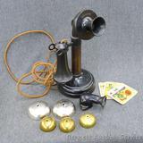 Antique Kellogg phone is 12
