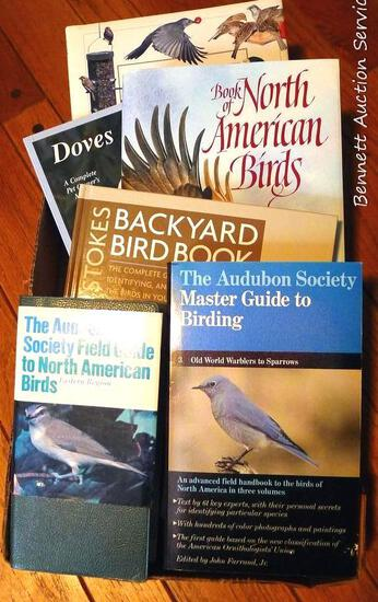 Bird lover's lot. Audubon Field Guide; Audubon Guide to Birding; Book of North American Birds;