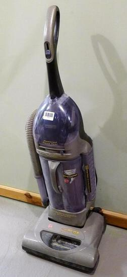 Hoover Wind Tunnel Technology vacuum cleaner runs and picks up dirt. Hose has vacuum, it is a little