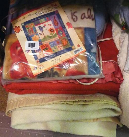 "NIP 64"" x 53"" fleece blanket; electric blanket; other blanket; more."