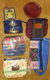 Pendleton wool zippered clutch is 7