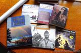 Native American Indian books including The Adobe Castle of the Santa Fe; Arapaho Stories Songs and