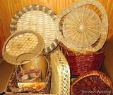 Collection of baskets up to 14